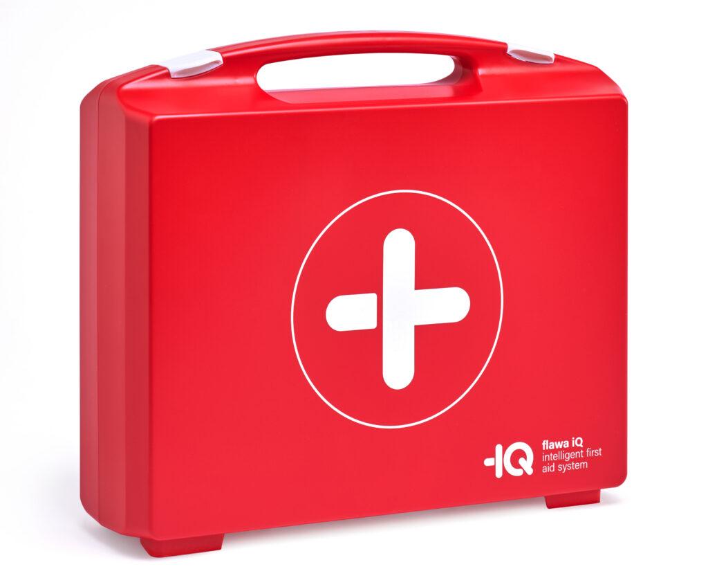 Intelligenter Erste-Hilfe-Koffer - flawa iQ setzt neue Massstäbe