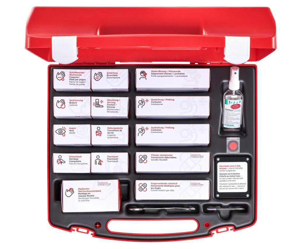 Erste-Hilfe-Koffersystem iQ Basic: Module sorgen für Ordnung & Übersicht