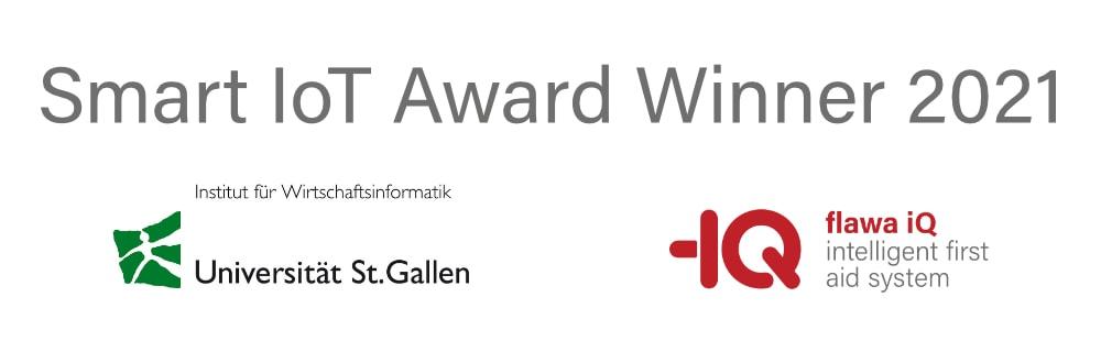 Award Smart IoT Universität St. Gallen für flawa iQ